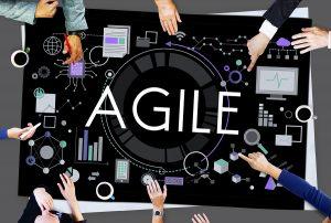 Agile manufacturing concept.